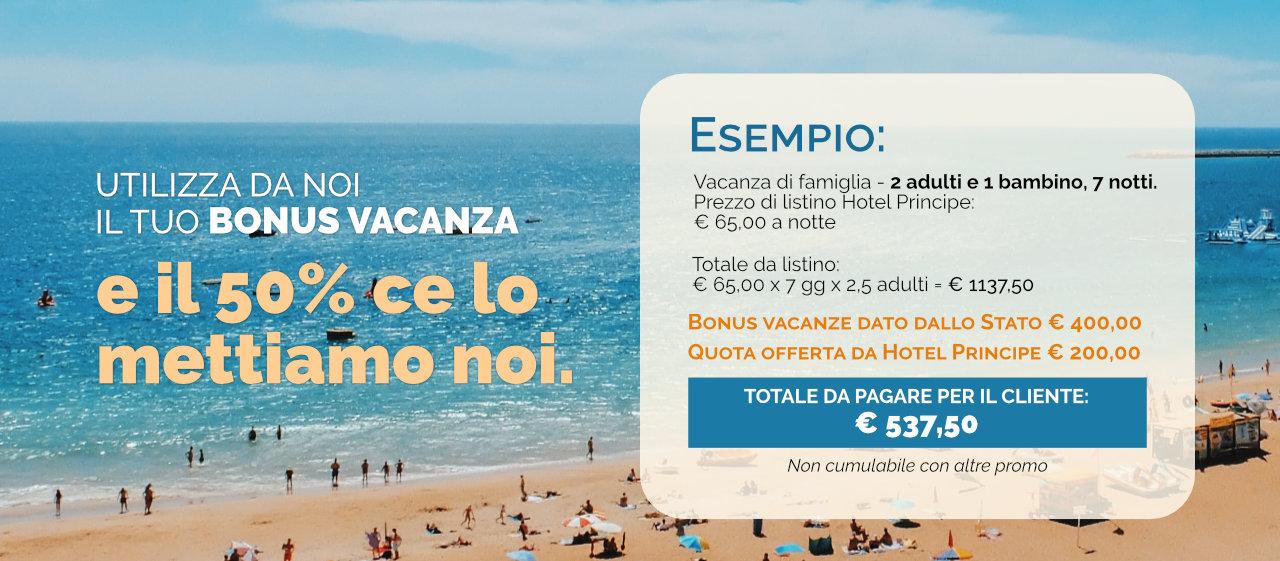 Bonus Vacanze Hotel Principe Gatteo Mare