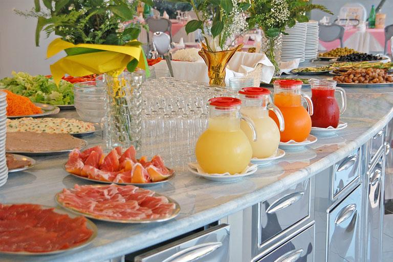Buffet colazione Hotel Principe